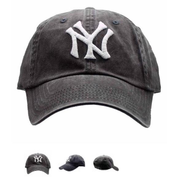 62441c2d0 Distressed Yankees hat 🧢